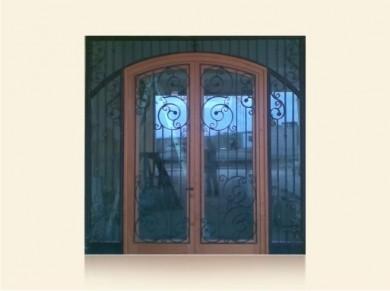 Врата за къща масив Mодел 4