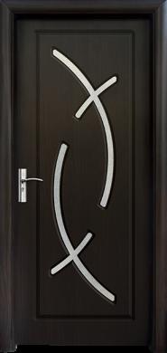Интериорна врата Модел 056 B - венге