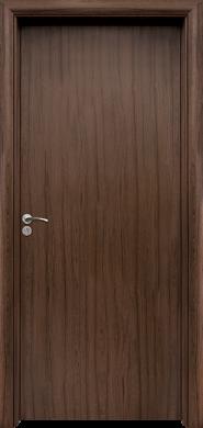 Интериорна врата Модел 030 T - орех плътна