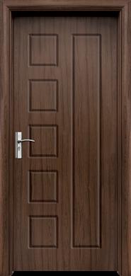 Интериорна врата Модел 048-P T - орех плътна