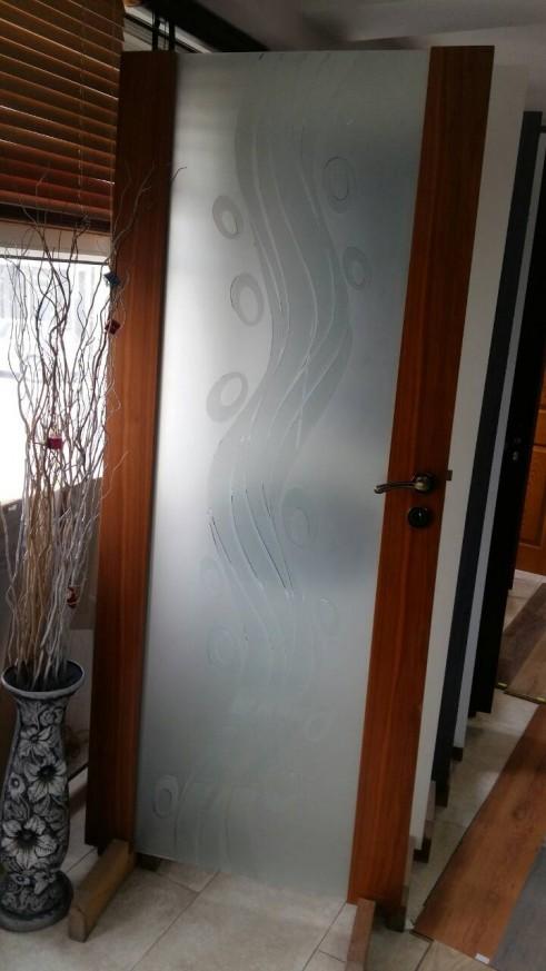 Интериорна врата Гравиран Триплекс