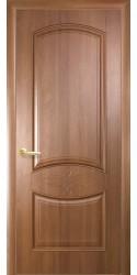 Интериорна врата Модел Дона цвят Златна елха. Моделът включва: крило, каса, 2 комплекта раздвижни первази, 3бр. лагерни панти, брава, дръжки, уплътнения