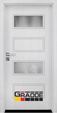 Интериорна врата модел Blomendal - Сибирска лиственица остъклена