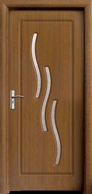 Интериорна врата Модел 014 C - златен дъб