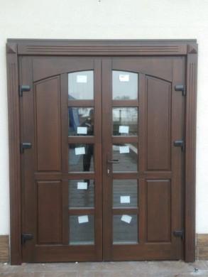 Врата за къща масив - оферта при запитване