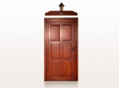 Врата за къща масив Модел 11