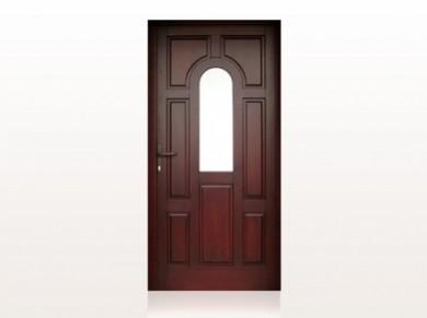 Врата за къща масив Mодел 1