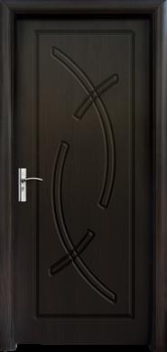 Интериорна врата Модел 056-P B- венге плътна