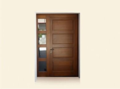 Врата за къща масив Модел 6
