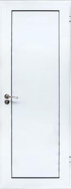 Врата за баня - бяла