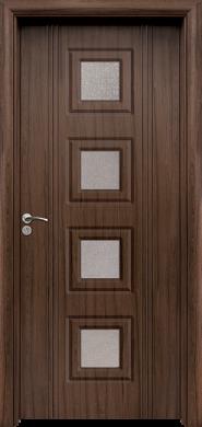 Интериорна врата Модел 021 T - Орех