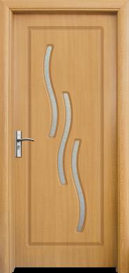 Интериорна врата Модел 014 A - светъл дъб