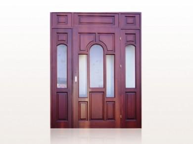 Врата за къща масив Модел 7