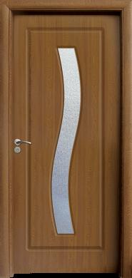 Интериорна врата Модел 066 C - златен дъб