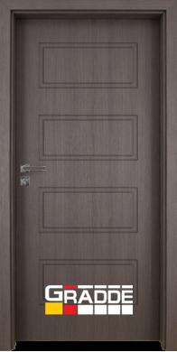 Интериорна врата модел Blomendal - Череша Сан Диего плътна