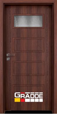 Интериорна врата модел Blomendal - Шведски Дъб остъклена