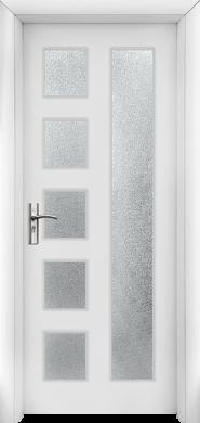 Интериорна врата Модел 048W - бяла