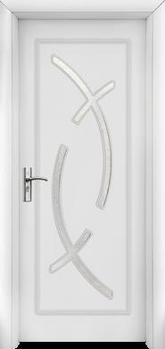 Интериорна врата Модел 056 W - бяла