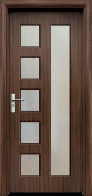 Интериорна врата Модел 048Т - орех