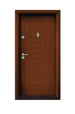 Врата за къща Серия Атмо Модел Т-712 Златен дъб
