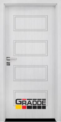 Интериорна врата модел Blomendal - Сибирска лиственица плътна