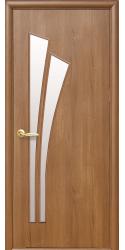 Интериорна врата Модел Лилия Златна елха. Моделът включва: крило, каса, 2 комплекта раздвижни первази, брава, 3 бр. панти тип