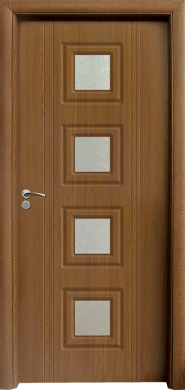 Интериорна врата Модел 021 C - Златен Дъб