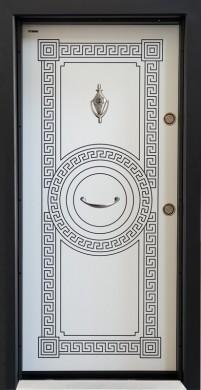 Врати Серия Паркдор Модел СЛ-100 Бяла Перла