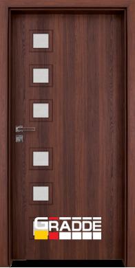 Интериорна врата Модел Reichsburg - Шведски дъб остъклена
