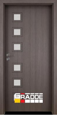 Интериорна врата Модел Reichsburg - Череша Сан Диего остъклена