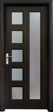 Интериорна врата Модел 048В - венге