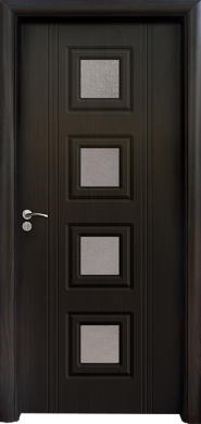 Интериорна врата Модел 021 B - Венге