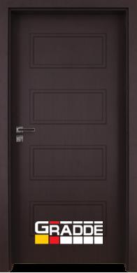 Интериорна врата модел Blomendal - Орех Рибейра плътна